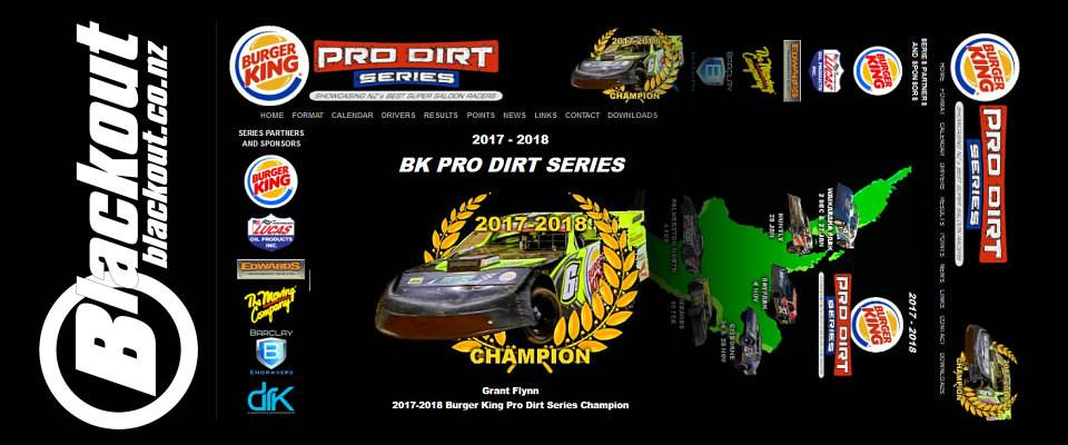 Burger King Pro Dirt Series